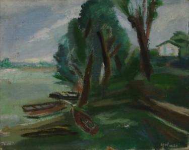 """12"""" x 15"""" Oil on Jute Canvas - Unframed"""