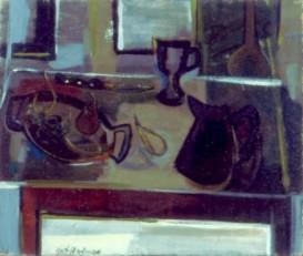 """25"""" x 30"""" Oil on Jute Canvas - Framed"""