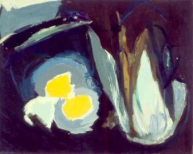 """25 1⁄2"""" x 32"""" Oil on Canvas - Framed"""