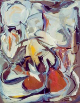 """36 1⁄4"""" x 28 5/8"""" Oil on Canvas - Framed"""