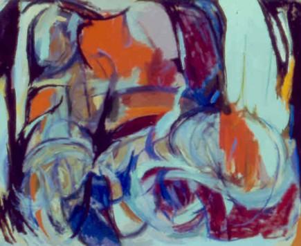 """31 7/8"""" x 39 3/8"""" Oil on Linen - Framed"""