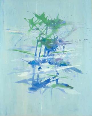 """54"""" x 45"""" Acrylic on Canvas - Unframed"""