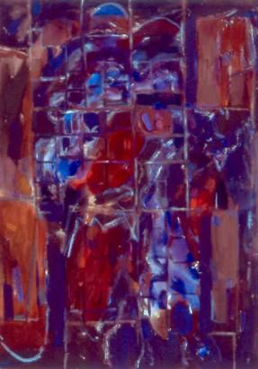 """46"""" x 35"""" Acrylic on Canvas - Unframed"""