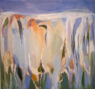 """34"""" x 36"""" Acrylic on Canvas - Unframed"""