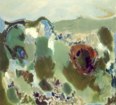 """50"""" x 54"""" Acrylic on Canvas - Unframed"""