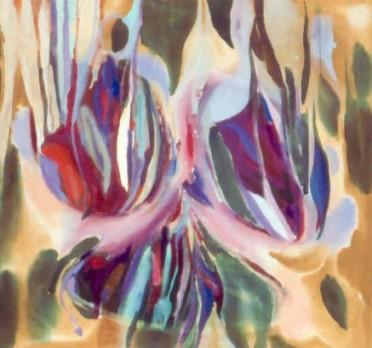 """46"""" x 50"""" Acrylic on Canvas - Unframed"""