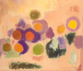 """47"""" x 54"""" Acrylic on Canvas - Unframed"""