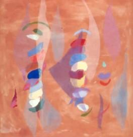 """54"""" x 52"""" Acrylic on Canvas - Unframed"""