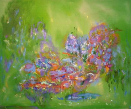 """40"""" x 48"""" Acrylic on Canvas - Unframed"""