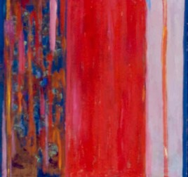 """34"""" x 36"""" Acrylic on Canvas - Framed"""