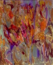 """36"""" x 30"""" Acrylic on Canvas - Framed"""