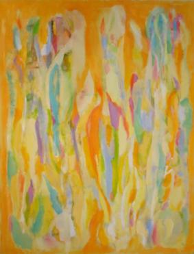 """52"""" x 40"""" Acrylic on Canvas - Unframed"""